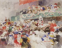 Римский карнавал (В. Суриков, 1884 г.)