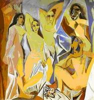 Авиньонские девицы (П. Пикассо, 1907 г.)