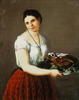 Деревенская девушка (Х.А. Аррьета)