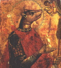 Мученик Христофор (коптское искусство)